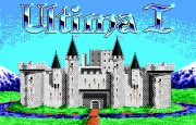 Ultima I - The First Age of Darkness title