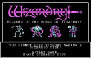 Wizardry I - Proving Grounds of the Mad Overlord title