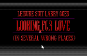 Leisure Suit Larry 2 - Goes Looking for Love (In Several Wrong Places) title