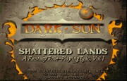 Dark Sun - Shattered Lands title