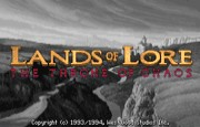 Lands of Lore - The Throne of Chaos title