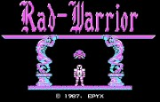 Rad Warrior title