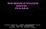Rendezvous with Rama title