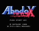 Abadox - The Deadly Inner War title