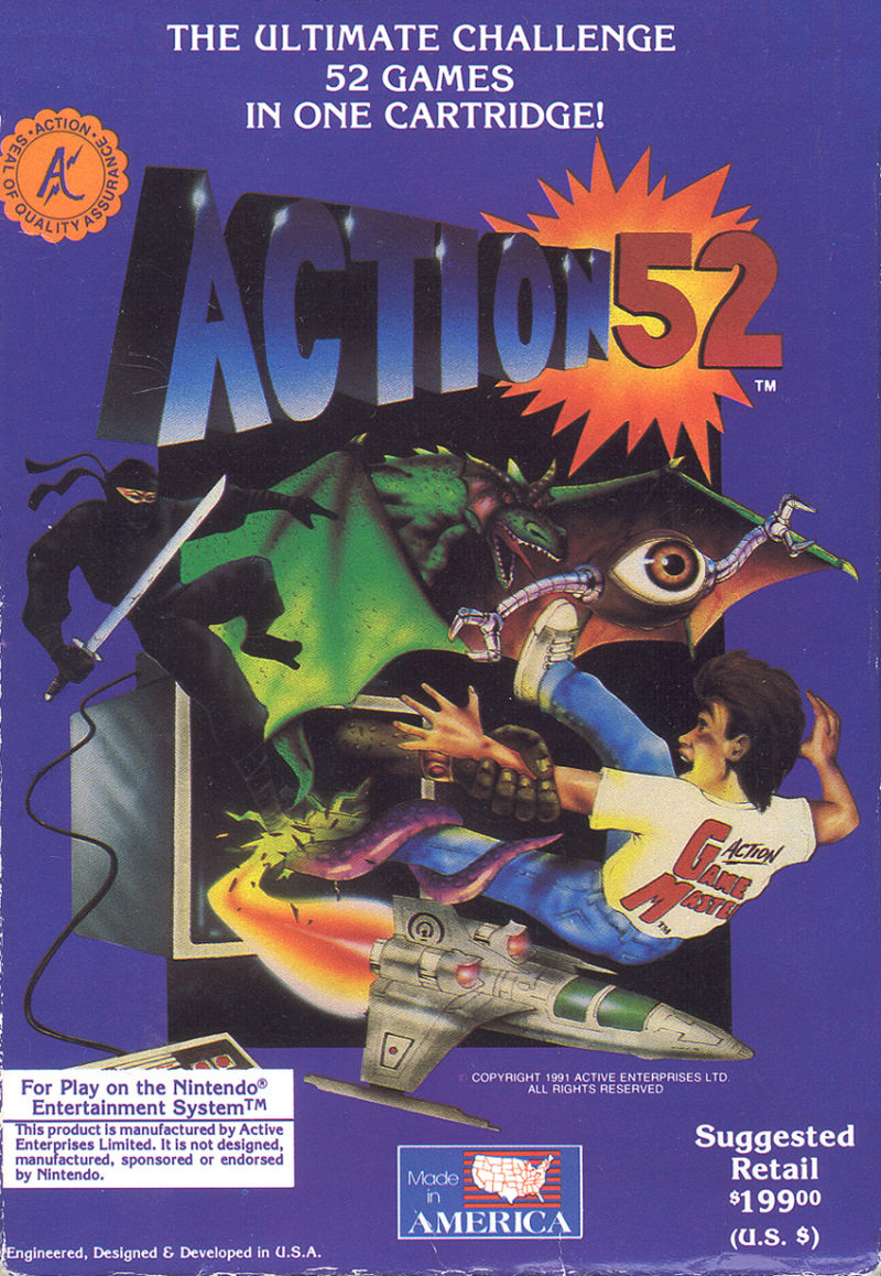 Action 52 front