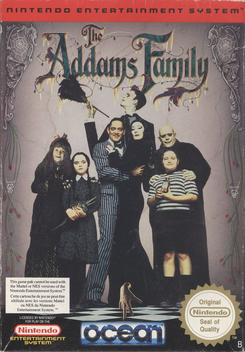 The Addams Family front