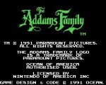 The Addams Family title