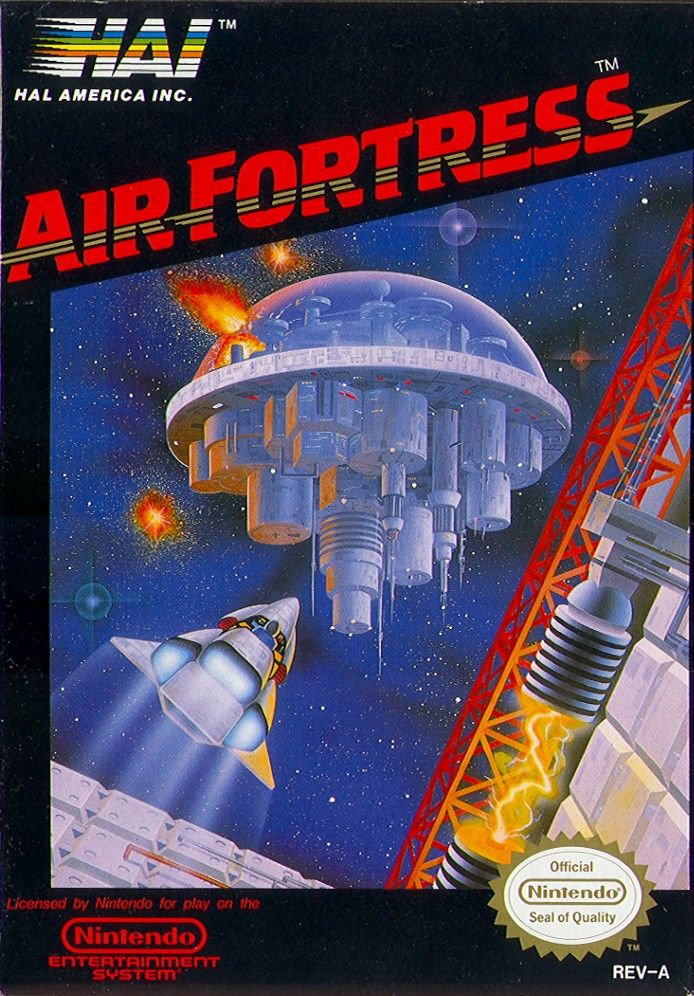 Air Fortress NES front