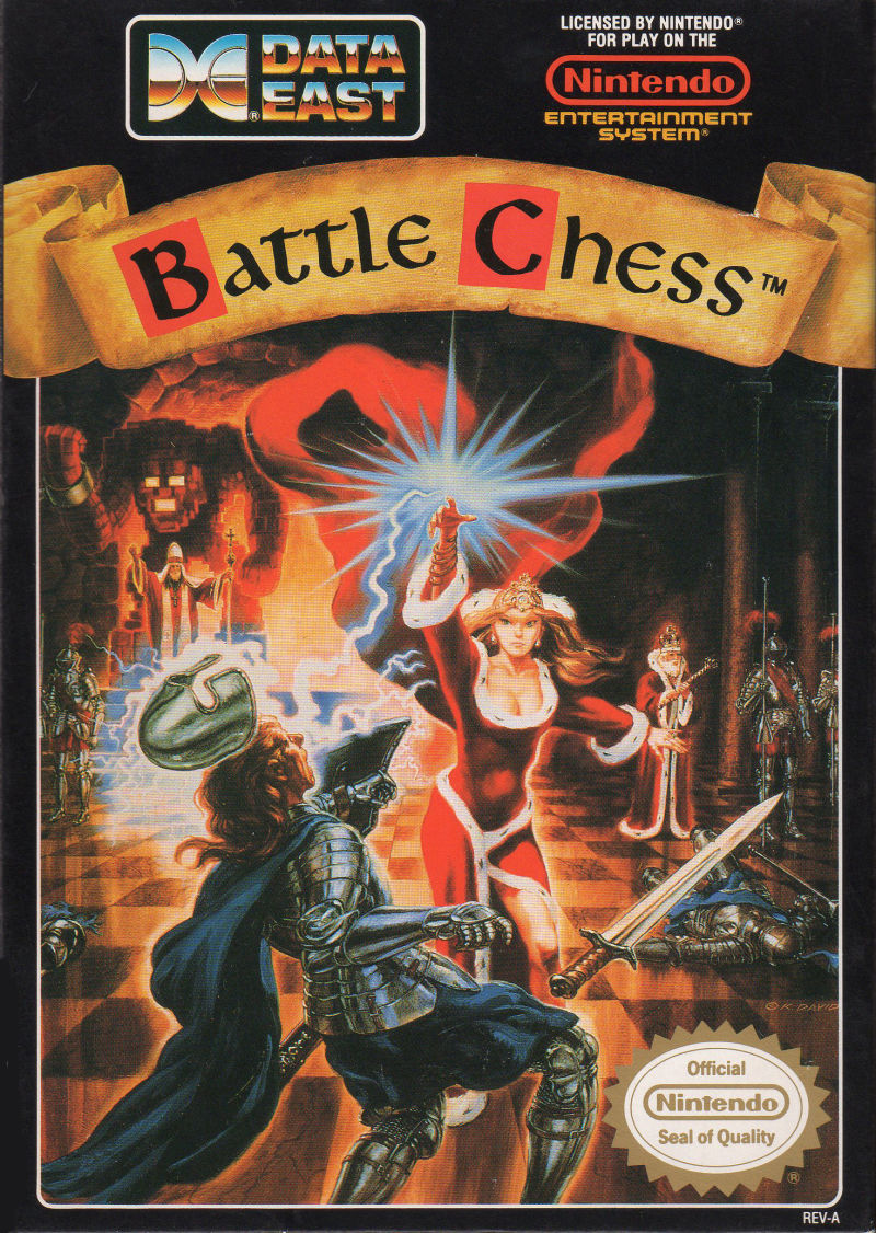 Battle Chess NES front