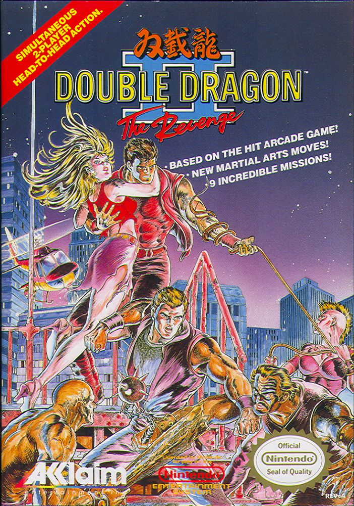 Double Dragon II - The Revenge nes front