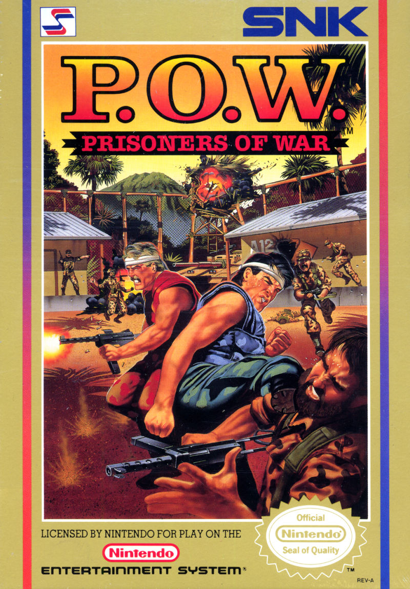 P.O.W. Prisoners of War front
