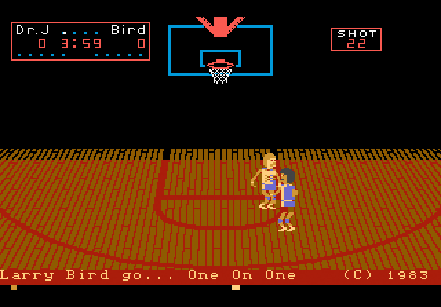 One-On-One Basketball (Atari 7800)