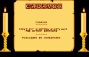 Cadaver-Title