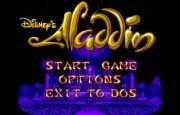 Disney's Aladdin title
