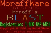 Moraff's Blast I title