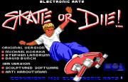 Skate or Die title
