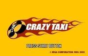 Crazy Taxi title
