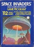 Space Invaders Atari 2600 front