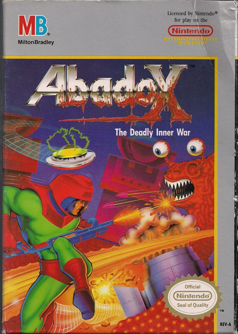 Abadox - The Deadly Inner War front