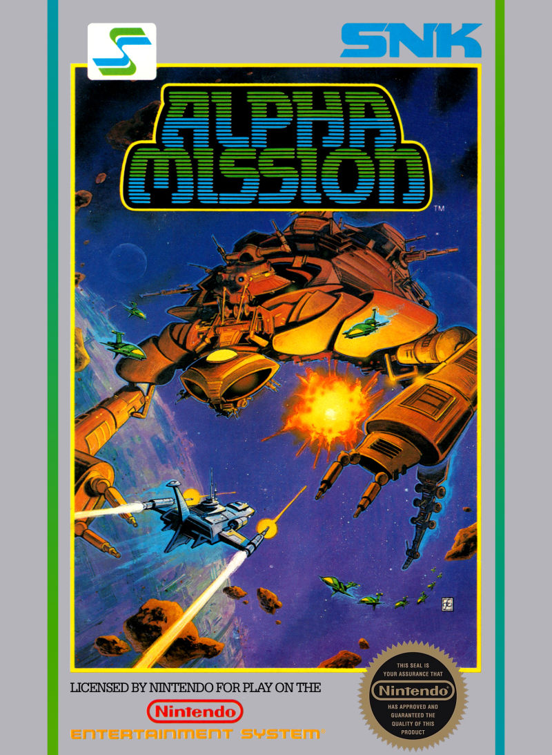 Alpha Mission front