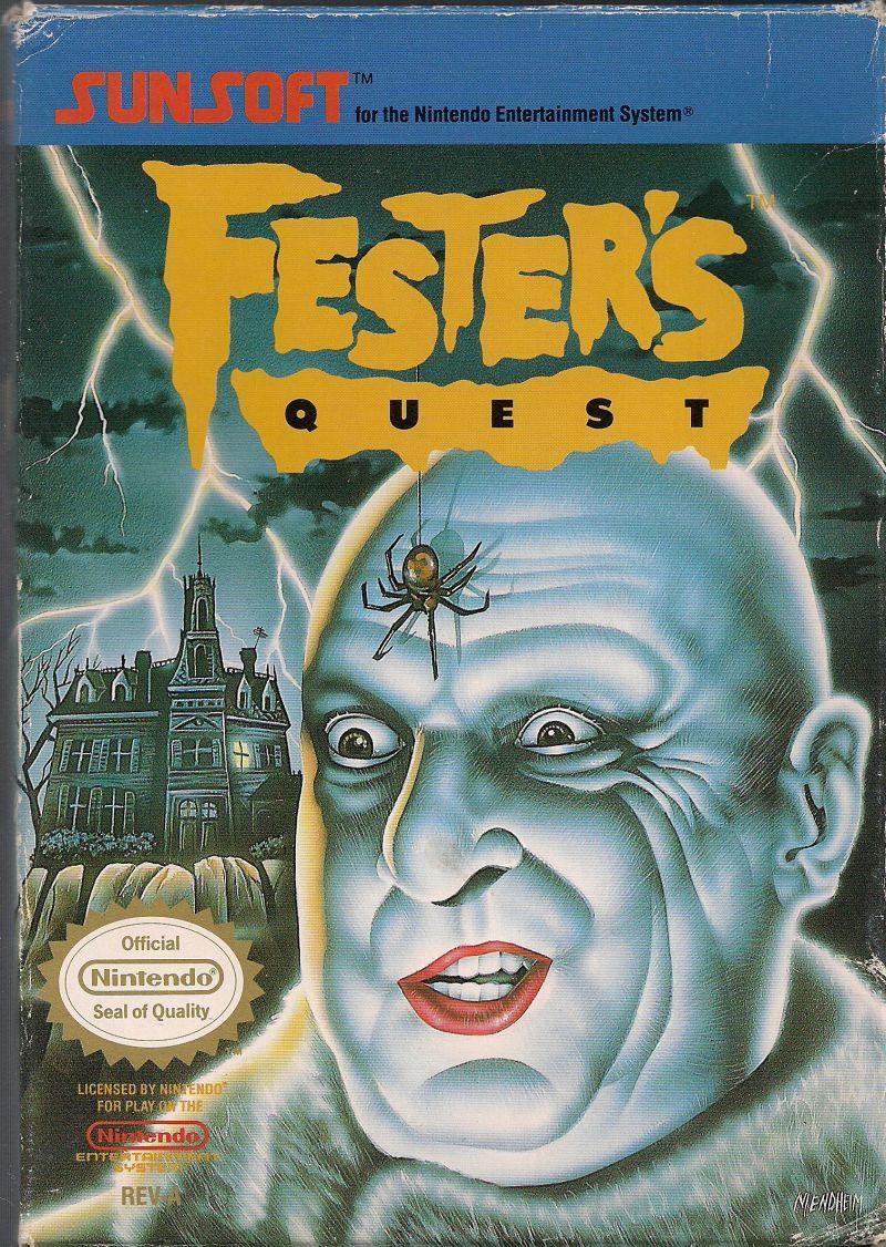 Fester's Quest front