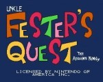 Fester's Quest title