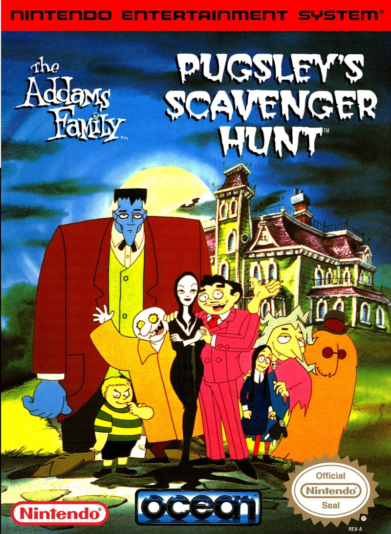 The Addams Family Pugsley's Scavenger Hunt front