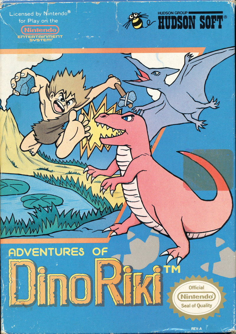 Adventures of Dino-Riki front