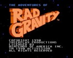 Adventures of Rad Gravity title