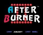After Burner II title