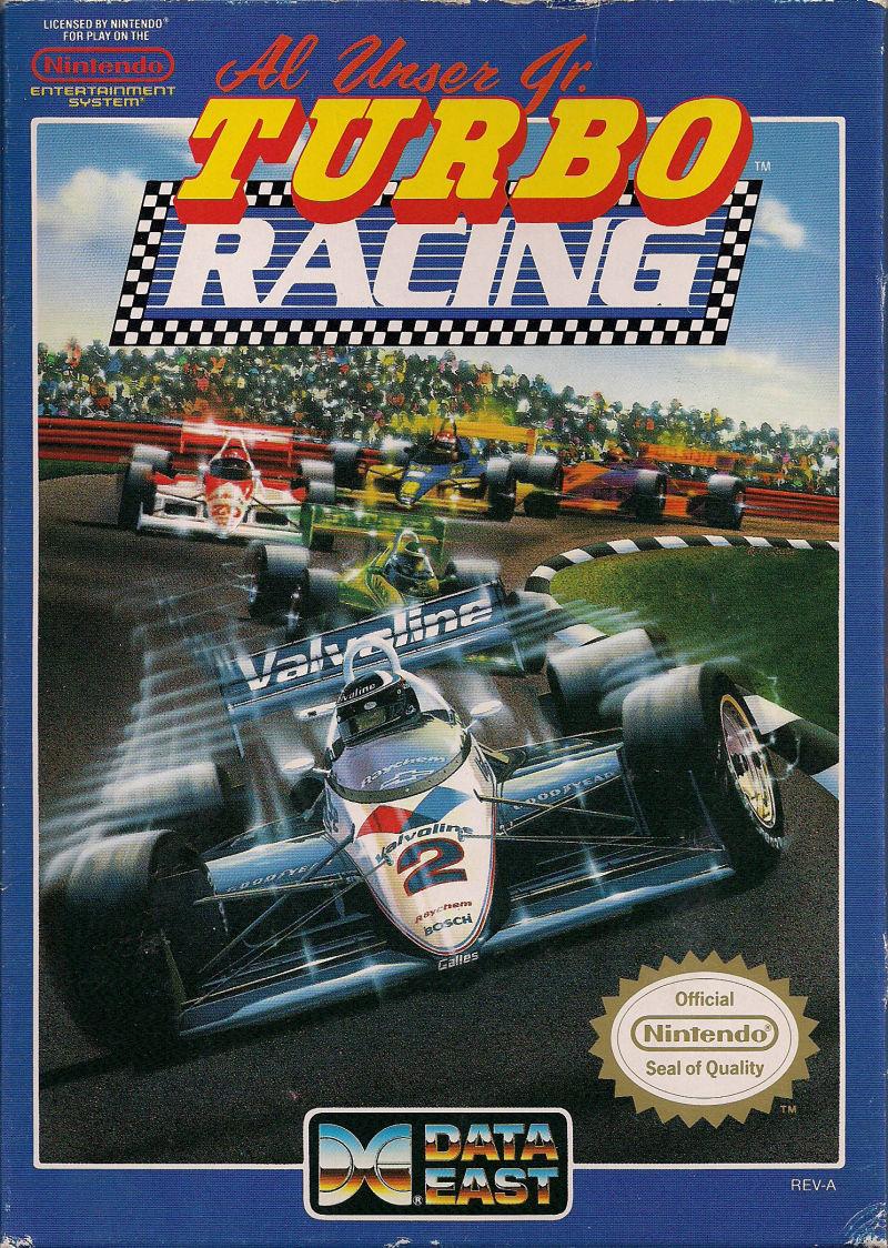 Al Unser Jr. Turbo Racing front