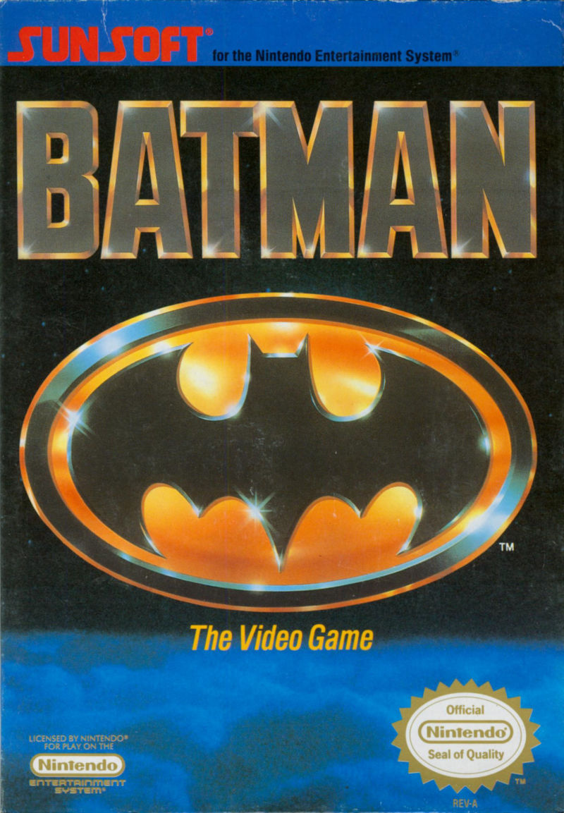 Batman - The Video Game front