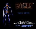 Batman - The Video Game titlee