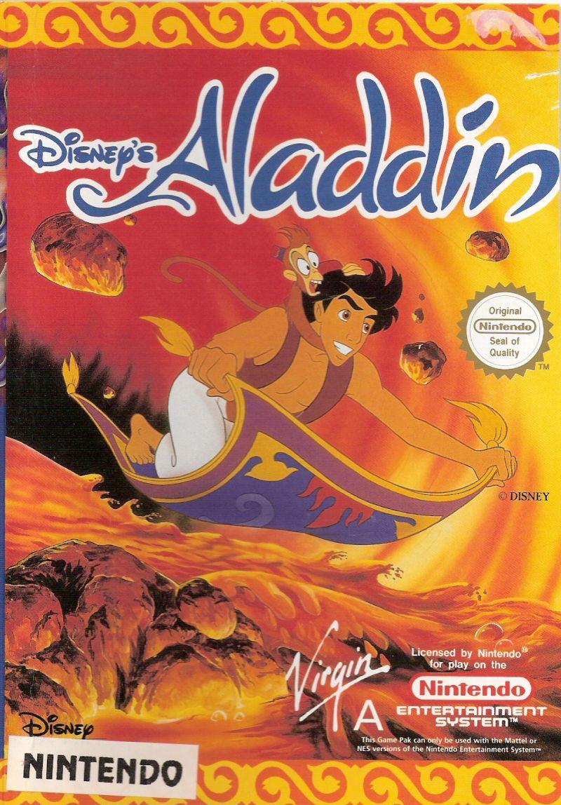 Disney's Aladdin NES front