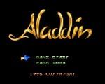 Disney's Aladdin NES title