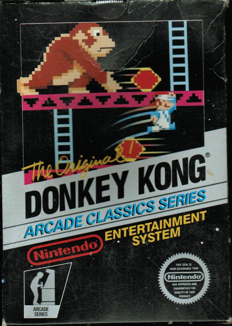 Donkey Kong front nes
