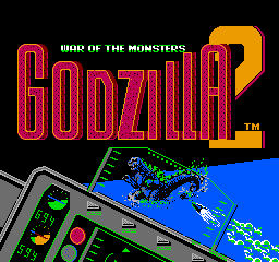 Godzilla 2 - War of the Monsters front