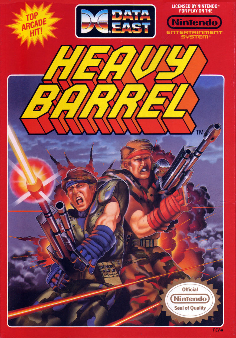 Heavy Barrel nes front