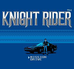 Knight Rider title