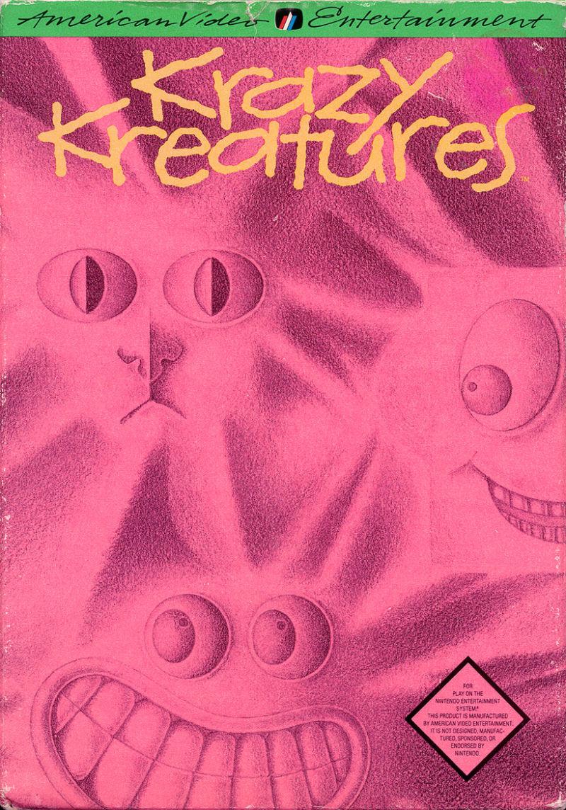 Krazy Kreatures front