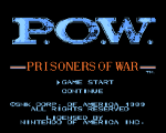 P.O.W. Prisoners of War title1