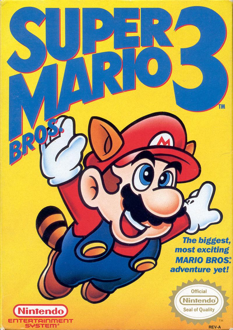 Super Mario Bros. 3 front