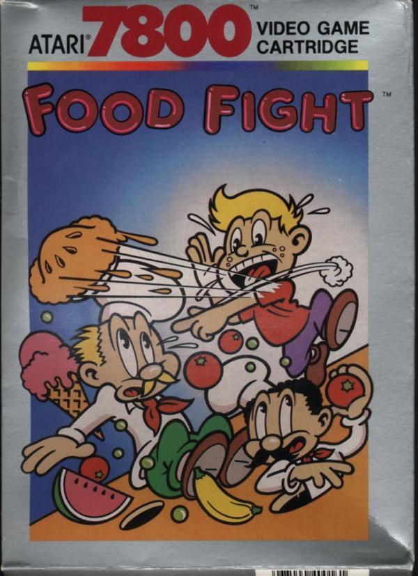food-fight-atari-7800-front
